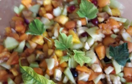 Príprava ovocného šalátu