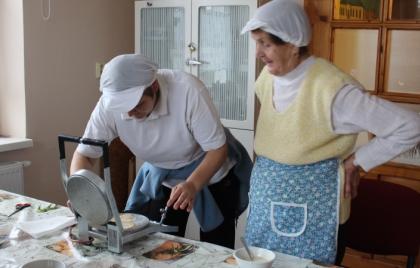 Pečenie slaných oblátok