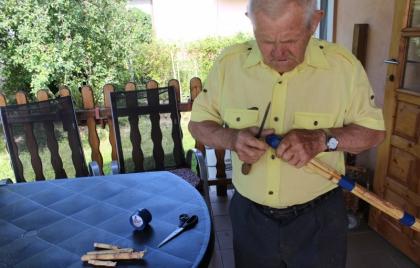 Výroba cirokovej metly