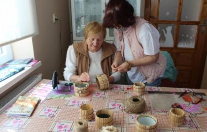 Dokončenie výroby vázy