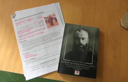 Prednáška na tému - sv. Maximilán Kolbe