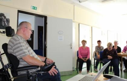 Prednáška - Poradenstvo o sociálnej pomoci pre seniorov