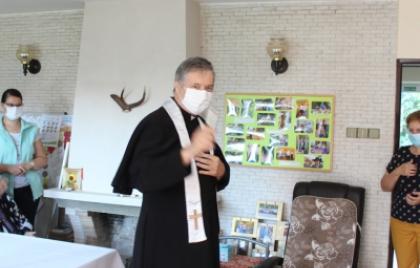 Posvätenie priestorov zariadenia Cabaj