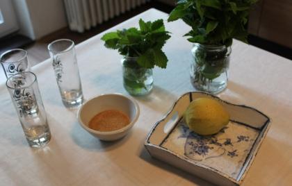 Kulinoterapia – príprava osviežujúceho nápoja
