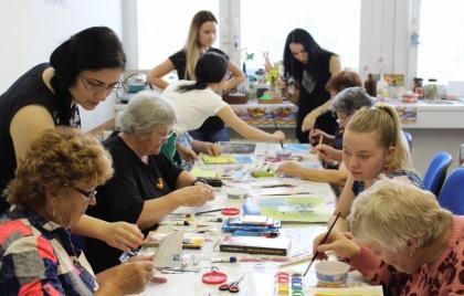 Výtvarná výchova s lektormi z UKF Nitra