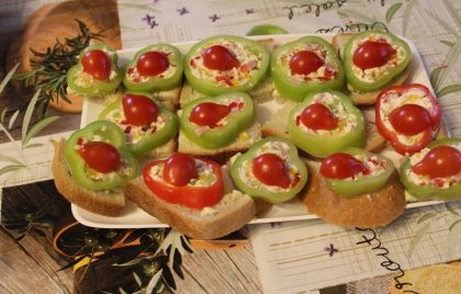 Syrová pomazánka so zeleninou