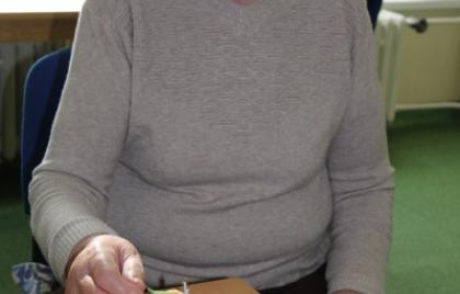 Výroba tekvičiek z použitých tričiek